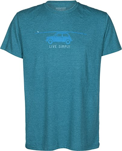 Patagonia Live Simply Glider T-shirt deep sea