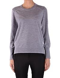 BURBERRY Women's MCBI056296O Grey Wool Sweatshirt