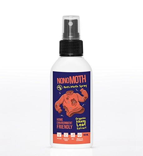 Mottenspray NoNoMoth   100% natürlicher, BIO Lavendel Mottenschutz im Kleiderschrank   Top Alternative zu Mottenpapier, Mottenfalle & Mottenkugeln (Zukunft Der Duft)