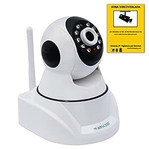 Wifi sans fil P2P caméra de sécurité IP wanscam HW0030-1 avec le code QR HW030