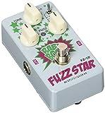 Best pedales de distorsión - Biyang FZ10 Fuzz Star pedal de distorsión Review