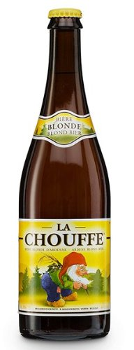 Birra la chouffe golden ale bottiglia cl.75