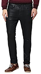 JACK & JONES Mens Ben Skinny Fit Jeans (Black Denim) (5712067650955)