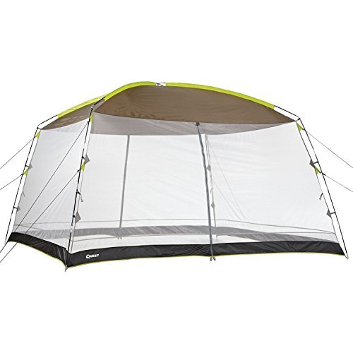 QuestÃ'® 12 Ft. X 12 Ft. Recreational Mesh Screen House Canopy Tent: Great for Backyard and Camping by Quest