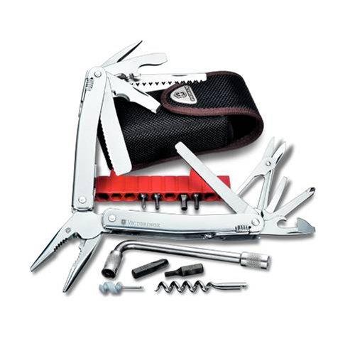 Preisvergleich Produktbild Victorinox Taschenwerkzeug SwissTool Spirit Plus in Nylonetui, 3.0238.N