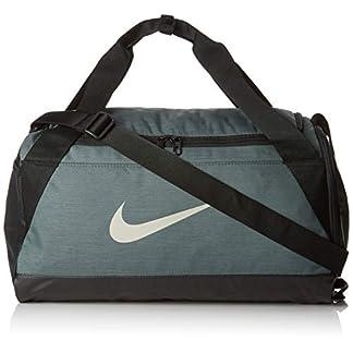 41GgjclZvRL. SS324  - Nike NK BRSLA S Duff Bolsa de Gimnasio, Adultos Unisex, Mineral Black/Spruce fo, One Size