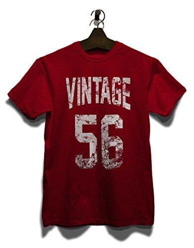 Vintage 1956 T-Shirt Bordeaux