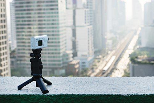 Sony FDR-X3000R 4K Action Cam mit BOSS (Exmor R CMOS Sensor, Carl Zeiss Tessar Optik, GPS, WiFi, NFC) mit RM-LVR3 Live View Remote Fernbedienung, weiß - 62