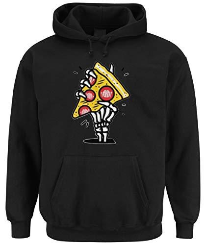Certified Freak Pizza Hand Hooded-Sweater Black M