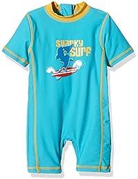 """Aquatinto """"Sharky Surf"""", UV +50 - Bañador Bebé-Niñas"""
