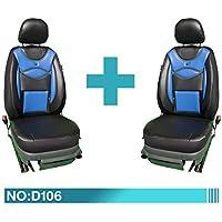 Ssangyong Sitzbezüge Schonbezüge Sitzbezug Fahrer/&Beifahrer D107 Schhwarz-Beige