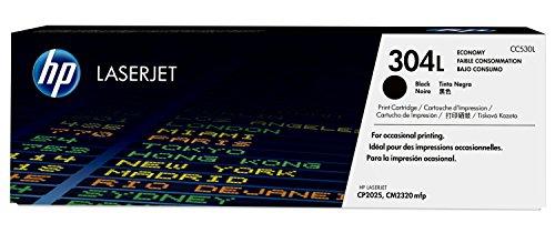 HP 304L Economy (CC530L) Schwarz Original Toner für HP Color LaserJet CP2025, CM2320 -