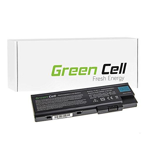 Green Cell Laptop Akku für Acer Aspire 1640 1650 1690 3000 3500 4100 4500 5000 5510 | Acer Extensa 2300 3000 4100 6600 6700 | Acer TravelMate 2300 2310 2430 4000 4500 (8 Zellen 4400mAh 14.8V Schwarz)