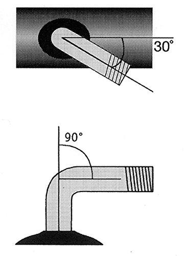 Schlauch Impac 180/200x50/7 x 1 3/4\' 7x1 3/4\'/200x50 AV 30/90 ° (1 Stück)