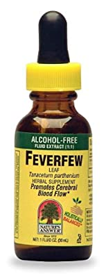 Nature's Answer Feverfew, Alcohol Free 1 Fl Oz from Nature's Answer