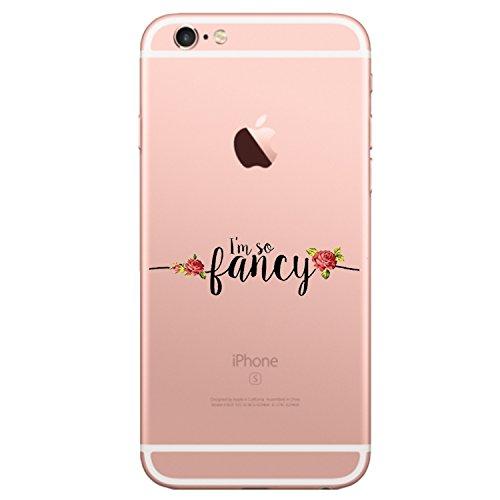 """Qissy® Coque iPhone 6plus ,pour Apple iPhone 6plus / 6Splus Coque Transparent TPU Silicone Doux TPU Case Cover Housse Etui pour Apple iPhone 6plus / 6Splus 5.5"""" 10"""
