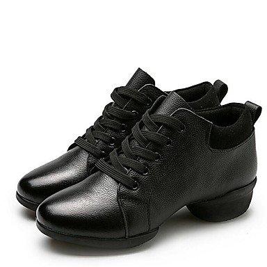 Wuyulunbi@ Donne's Dance Sneakers Sneaker Outdoor tacco basso Rosso Nero 1 US7.5 / EU38 / UK5.5 / CN38