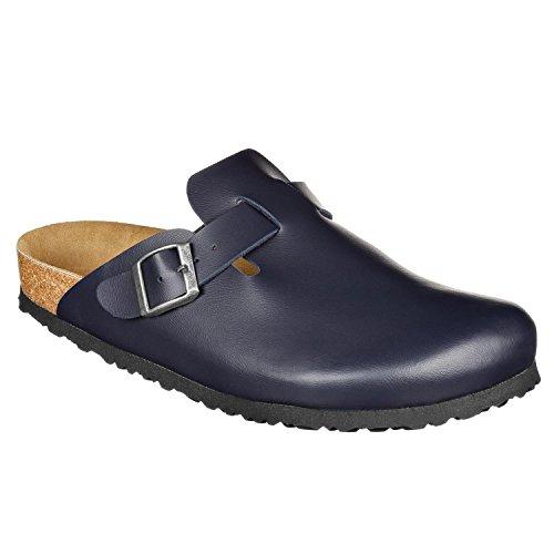 JOE N JOYCE Amsterdam Synsoft pantofola stretto Dark Blue
