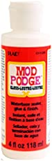 Mod Podge Waterbase Sealer, Glue and Finish (4-Ounce), CS11205 Gloss Finish