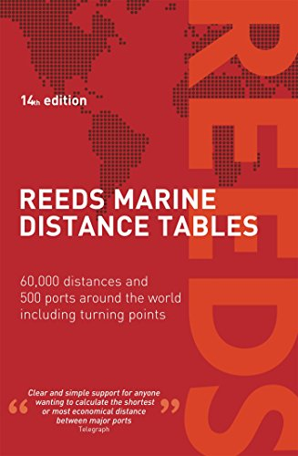 Reeds Marine Distance Tables 14th edition por Miranda Delmar-Morgan