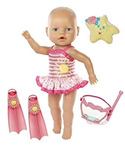 Buy Baby Born Baby Born Amazing Bubbles N Swim Doll Girl Online At