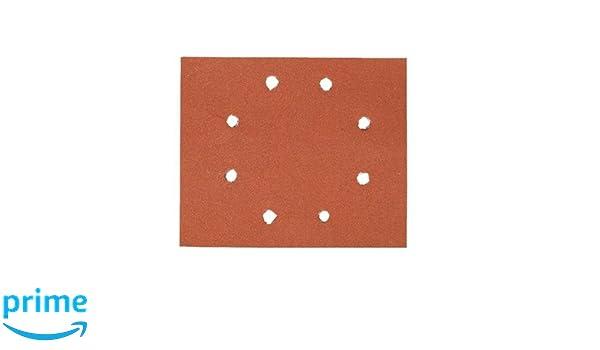 DeWalt Vibratiosnschleifer//Schwingschleifer 230 Watt, Schwingkreis-/ø 1.6 mm, Schleifplatte 108 x 115 mm, Klettfix, AirLock kompatibel /& Schleifbl/ätter 115x115 K80 8-L 10 St.