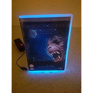 An American Werewolf in London Neon Nightlight,Lighting,lamps,Dvd,Neonlight,Neonlamps,Halloween,Horror,lights