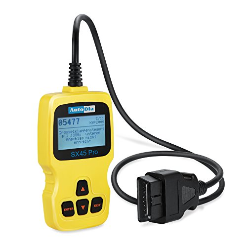 AutoDia SX45 Can Bus Diagnose OBD2 EOBD Handscanner (Obd Ii Scanner Abs)