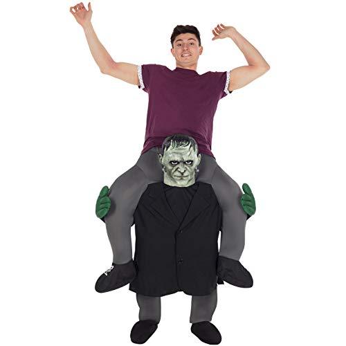 Morph MCPBFR Mach es selbst Füllung Halloween Karneval Huckepack Kostüm, Frankenstein, Einheitsgröße