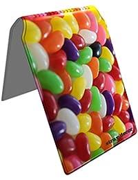 Stray Decor (Jelly Beans) Étui à Cartes / Porte-Cartes pour Titres de Transport, Passe d'autobus, Cartes de Crédit, Navigo Pass, Passe Navigo et Moneo