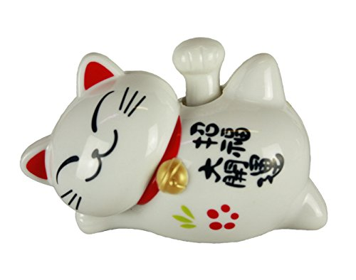 haac-waving-cat-lucky-charm-10-cm-white