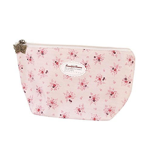 Culater® bella incendo portatile viaggiare trousse trousse marsupio rosa