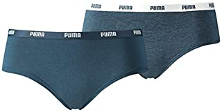 Puma 573009001945010 - Culotte Lot de 2 - Femme - Bleu (Dark Denim) - S (B01N79R254) | Amazon price tracker / tracking, Amazon price history charts, Amazon price watches, Amazon price drop alerts