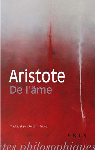 de L'Ame (Biblio Textes Philosophiques) por Aristote
