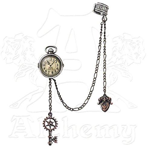 Alchemy Empire: Steampunk Orologio di zio Albert Orecchino Singolo