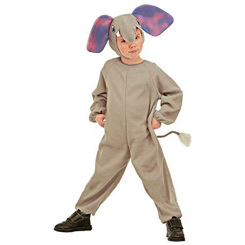WIDMANN 36658 - Disfraz infantil de elefantes, multicolor, 104 cm / 2 - 3 años