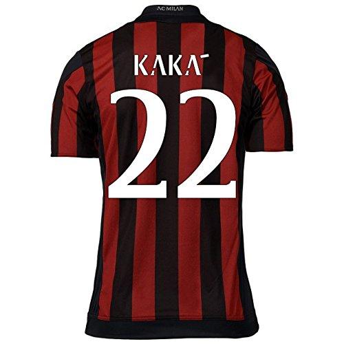 2015-16 AC Milan Home Shirt (Kaka 22) - Kids (Fußball Kaka Trikot)