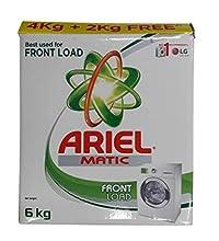 Ariel Matic Detergent Washing Powder - Front Load - 4 KG + 2 KG Free