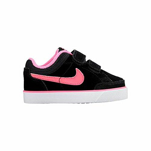 Nike Capri 3 (Tdv), Chaussures de Football Bébé Garçon Noir / Rose / Blanc (Noir / Rose Pow-Blanc)