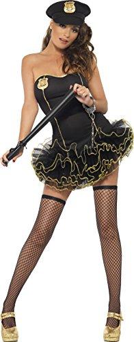lizistin Kostüm, Tutu-Kleid mit abnehmbaren Trägern und Mütze, Größe: S, 26192 ()