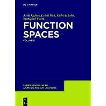 Function Spaces, 2 (De Gruyter Series in Nonlinear Analysis and Applications, Band 25)