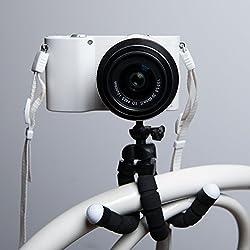Keple | Octopus Flexible Tripod For Canon Powershot S120 Sx280 Hs Sx270 Hs A2500 Elph 115 Is (Ixus 132 Hs) Elph 330 Hs (Ixus 255 Hs) Photo Camera Filming Vlogging.
