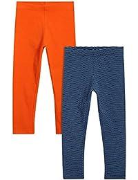 next Niñas Infantes Paquete De Dos Pantalones Ajustados Leggings Mallas De Mezcla De Algodón (3 Meses-6 Años)