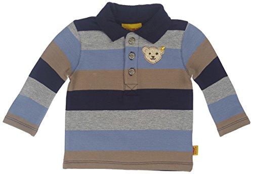 Steiff Baby - Jungen Poloshirt 1/1 Arm, Gr. 80 (Herstellergröße: 80) Mehrfarbig (original multicolored 0004)