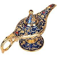 BetterUS Aladdin lámpara mágica de Legend Gold Red-Bronze Royal Blue lámpara de Aceite Coleccionable