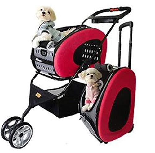 Azyq Cochecito plegable mascotas perros gatos, silla