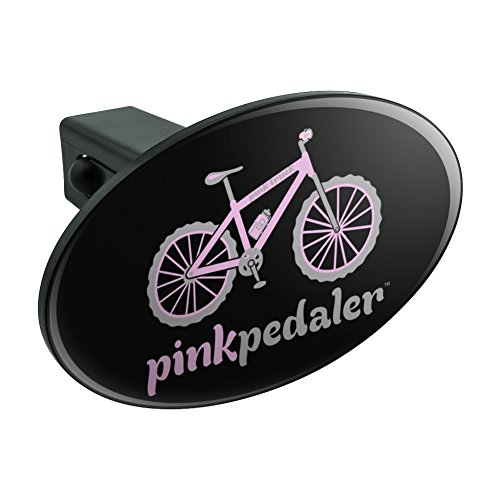 Pink Pedaler Mountain Bike Fahrrad Logo Oval Anhängerkupplung Trailer-Plug Insert 1 1/10,2 cm (3,2 cm) (Bully-receiver Hitch Cover)