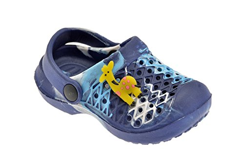 Medori Sandali Sabot Neu Kinder Schuhe Blau