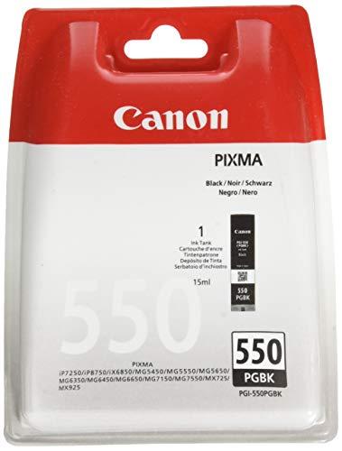 CANON PGI-550PGBK BL Tinte Pigment schwarz Standardkapazität 1-pack blister mit Alarm -