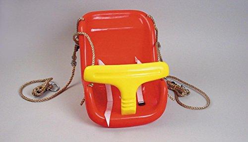 Preisvergleich Produktbild WICKEY Babysitz 2-teilig Babyschaukel Rot / Gelb